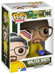 Figurine Funko Pop Breaking Bad #160 Walter White - Combinaison Hazmat
