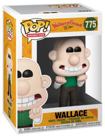 Figurine Funko Pop Wallace et Gromit #775 Wallace