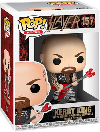 Figurine Funko Pop Slayer #157 Kerry King