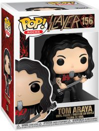 Figurine Funko Pop Slayer #156 Tom Araya