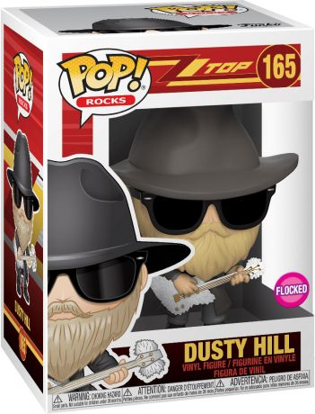 Figurine Funko Pop ZZ Top #165 Dusty Hill - Floqué
