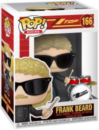 Figurine Funko Pop ZZ Top #166 Frank Beard