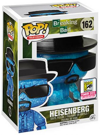 Figurine Funko Pop Breaking Bad #162 Heisenberg - Meth Bleue