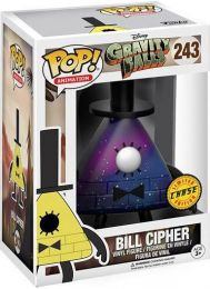 Figurine Funko Pop Souvenirs de Gravity Falls #243 Bill Cipher [Chase]