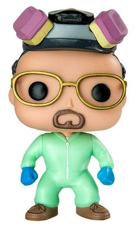 Figurine Funko Pop Breaking Bad #160 Walter White - Combinaison Hazmat Verte