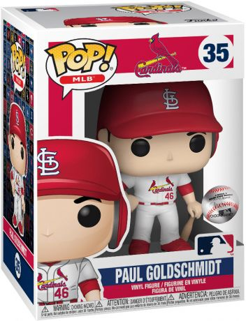 Figurine Funko Pop MLB : Ligue Majeure de Baseball #35 Paul Goldschmidt