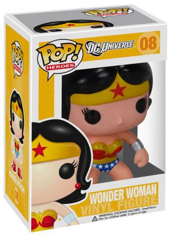 Figurine Funko Pop DC Universe #08 Wonder Woman