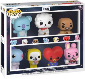 Figurine Funko Pop BT21 #0 BT21 - 7 Pack