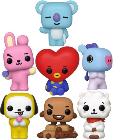 Figurine Funko Pop BT21 #00 BT21 - 7 Pack