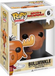 Figurine Funko Pop Rocky and Bullwinkle #6 Bullwinkle