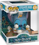 Figurine Pop Lilo et Stitch [Disney] #639 Stitch avec Canards - 15 cm