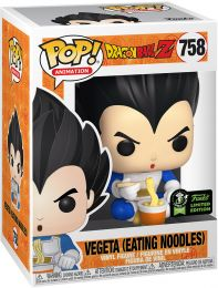 Figurine Funko Pop Dragon Ball #758 Vegeta (Mangeant des Nouilles)