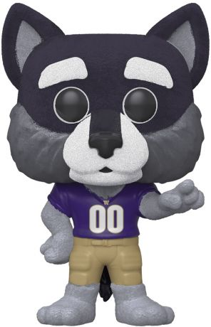 Figurine Funko Pop Mascottes Universitaires #03 Harry le Husky - Floqué