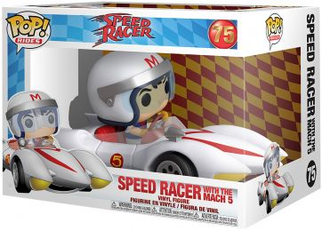 Figurine Funko Pop Speed Racer #75 Speed Racer avec Mach 5