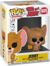 Figurine Funko Pop Tom et Jerry #405 Jerry avec Fromage