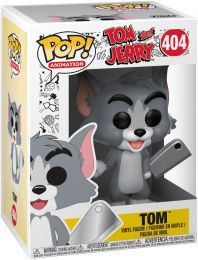 Figurine Funko Pop Tom et Jerry #404 Tom avec Couperet