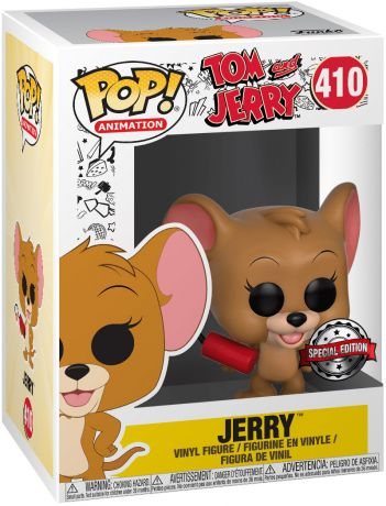 Figurine Funko Pop Tom et Jerry #410 Jerry avec Dynamite