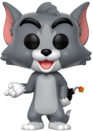 Figurine Funko Pop Tom et Jerry #409 Tom avec Bombe