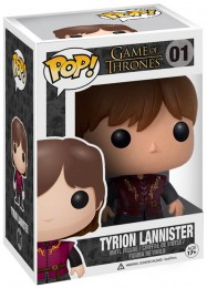 Figurine Funko Pop Game of Thrones 3014 - Tyrion Lannister (01) pas chère
