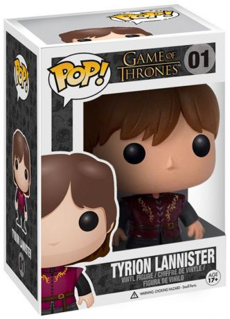 Figurine Funko Pop Game of Thrones #01 Tyrion Lannister