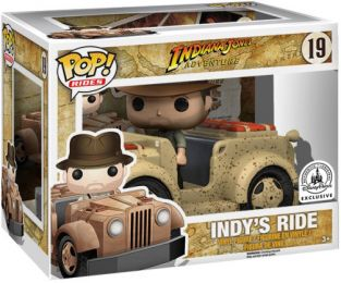 Figurine Funko Pop Indiana Jones #19 Le tour d'Indy