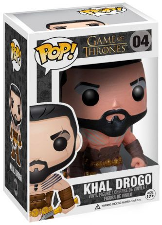 Figurine Funko Pop Game of Thrones #04 Khal Drogo
