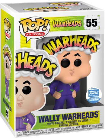 Figurine Funko Pop Icônes de Pub #55 Wally Warheads