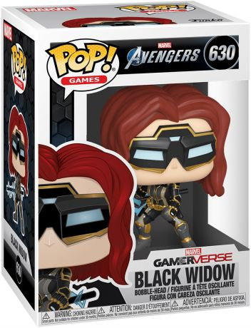 Figurine Funko Pop Avengers Gamerverse [Marvel] #630 Black Widow