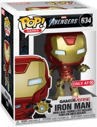 Figurine Funko Pop Avengers Gamerverse [Marvel] #634 Iron Man
