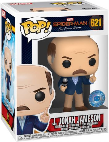 Figurine Funko Pop Spider-Man : Far from Home [Marvel] #621 J. Jonah Jameson