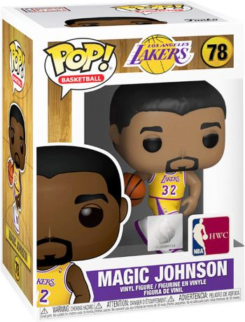 Figurine Funko Pop NBA #78 Magic Johnson (Lakers home)