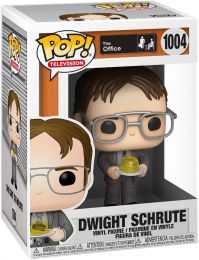Figurine Funko Pop The Office #1004 Dwight Schrute avec Agrafeuse