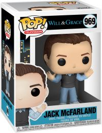 Figurine Funko Pop Will et Grace #969 Jack McFarland