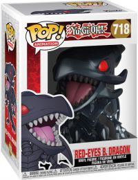 Figurine Funko Pop Yu-Gi-Oh! #718 Red-Eyes Black Dragon