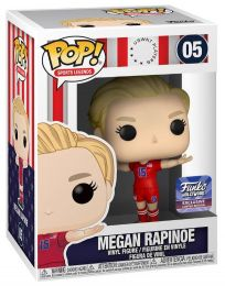 Figurine Funko Pop Légendes Sportives  #5 Megan Rapinoe (Away Jersey)