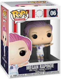 Figurine Funko Pop Légendes Sportives  #6 Megan Rapinoe