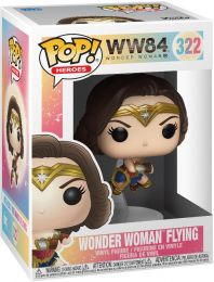 Figurine Funko Pop Wonder Woman 1984 - WW84 #322 Wonder Woman en Vol
