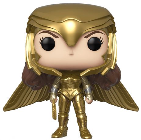 Figurine Funko Pop Wonder Woman [DC] #330 Wonder Woman Armure en Or - Métallique