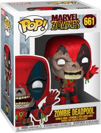 Figurine Funko Pop Marvel Zombies #661 Deadpool en Zombie