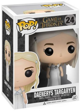 Figurine Funko Pop Game of Thrones #24 Daenerys Targaryen - Robe de mariée
