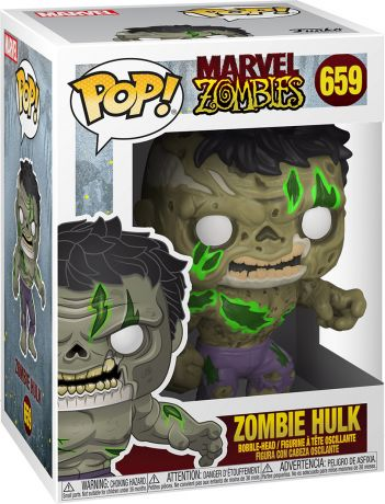 Figurine Funko Pop Marvel Zombies #659 Hulk en Zombie