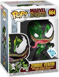 Figurine Funko Pop Marvel Zombies #664 Venom en Zombie