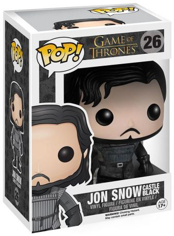 Figurine Funko Pop Game of Thrones #26 Jon Snow - Châteaunoir