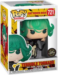 Figurine Funko Pop One Punch Man #721 Terrible Tornado - Brillant dans le noir [Chase]