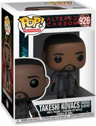 Figurine Funko Pop Altered Carbon #926 Takeshi Kovacs (Wedge Sleeve)