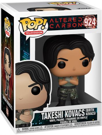 Figurine Funko Pop Altered Carbon #924 Takeshi Kovacs (Birth Kovacs)