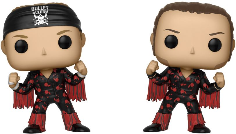 Figurine Funko Pop Bullet Club #00 Les Young Bucks