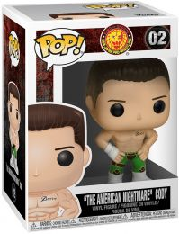 Figurine Funko Pop Bullet Club #2 Cody