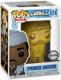 Figurine Funko Pop Un prince à New York #574 Prince Akeem - Or