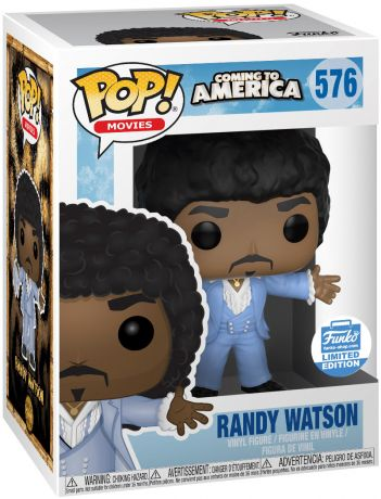 Figurine Funko Pop Un prince à New York #576 Randy Watson